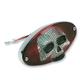 3-D Skull Taillight - 0902-1242