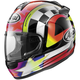 Black/White/Red/Yellow Vector-2 Schwantz 95 Helmet