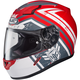 Red/White/Gray CL-17 MC-1F Mech Hunter Helmet