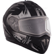 Matte Black Tranz RSV Blast Mat Modular Snow Helmet