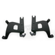 Black Trigger-Lock Mounting Hardware - Plates Only for Bullet Fairing FX - MEB1875