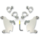 Polished No-Tool Trigger-Lock Hardware Kits for Gauntlet Fairing - 2320-0103