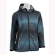 Womens Turquoise/Black Adrenaline Rain Jacket