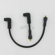 Custom Stainless/Copper 8.8mm Black Plug Wire Set - 172073K