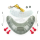 Integrated Taillight w/Smoke Lens - TL-0304-IT-S