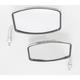 Chrome Universal Rectangular Mirror - 20-42460