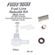 Fuel Line Male End Rebuild Kit - MC700