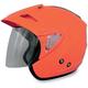 Safety Orange FX-50 Helmet