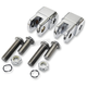 Chrome Early-Style Footpeg Mount Adapters - LA-720201