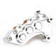Chrome J-Six Extreme Six-Piston Front Brake Caliper for 13 Inch Rotors - 306T-662