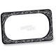 Black Engraved License Plate Frame - 12-142