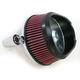 Chrome Stage I Big Sucker Performance Air Cleaner Kit w/Standard Filter - 18-441