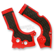 Red/Black X-Grip Frame Guards - 2374241018