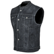 Black Soul Shaker Denim Vest