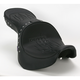 Studded Flame Stitch Low-Profile Double-Bucket Seat with Backrest - 0810-0934