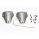 Silver Heelplate for Icon Elsinore/El Bajo Boots - 3430-0438