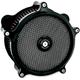 Black Super Gas Air Cleaner - 0206-2008-B