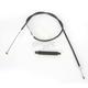 High-Efficiency Black Vinyl Clutch Cables - 101-30-10001+6