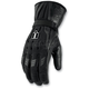 Black Device Touchscreen Long Gloves