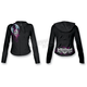 Womens Girl Skull Hoody