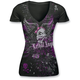 Womens Girl Skull Mashup T-Shirt