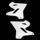 White Radiator Shrouds - 2402980002