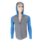 Heather Blue Impact Hoody