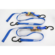 Blue 1 in. Heavy-Duty Ratcheting Tie-Downs - 3920-0299