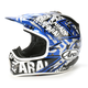 White/Blue/Gray Pride VX-Pro 3 Helmet