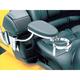 Chrome/Black Passenger Armrest - 8991