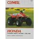 Honda ATV Repair Manual - M347