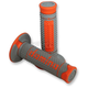 Gray/Orange Domino Diamonte Grips - A26041C4552