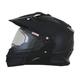 Black FX-39DS Dual Sport Helmet