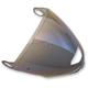 Blue Mirror Anti-Scratch Large Pinlock Shield - SPAVIS5270265