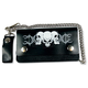 Barbed Wire Skulls 6 in. Wallet - WLB2005