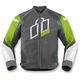 Green Hypersport Prime Leather Jacket