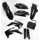 Black Full Replacement Plastic Kit - 2198000001