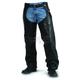 Unisex Gunslinger Leather Chaps