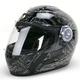 Black/Gray EXO-500 Crude Helmet