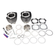 Wrinkle Black Powder Coat 117 in. Big Bore Cylinder and Piston Kit - 910-0221