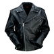 Black 9mm Leather Jacket