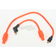 Orange 8mm Pro Spark Plug Wires w/180 Degree Boot - 77833