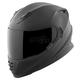 Solid Matte Black SS1600 Helmet