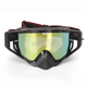 GP Gold Omen MX Goggles w/Smoke/Gold Mirror Lens - 323129274347