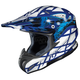 Black/Blue/Silver Tempest RPHA-X Helmet