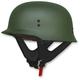 Flat Olive Drab FX-88 Half Helmet