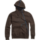 Dark Brown RPM Zip Hoody