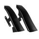 Black Saddlebag Filler Panels - 26315