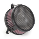 Black Plain Air Cleaner - 06-0270-03B