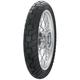 Rear AM44 Distanzia 130/80T-17 Blackwall Tire